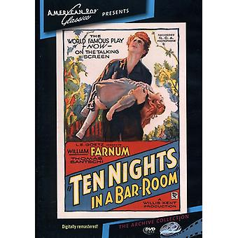 Dix nuits dans une importation USA [DVD] (1931) de Barroom