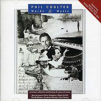 Phil Coulter - ord & musik [CD] USA import