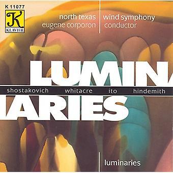 North Texas Wind Symphony - Luminaries [CD] USA import