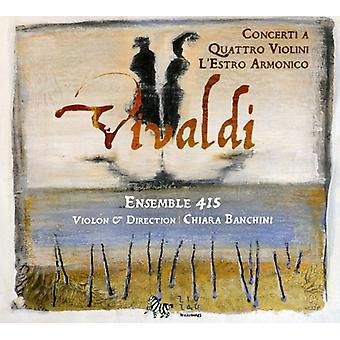 A. Vivaldi - Vivaldi: Concerto a Quattro Violini; L'Estro Armonico [CD] USA import