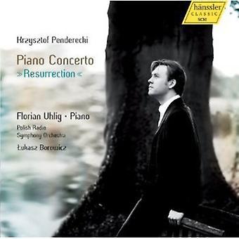 K. Penderecki - Krzysztof Penderecki: Piano Concerto Resurrection [CD] USA import