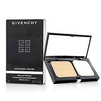 Givenchy Matissime Velvet Radiant Mat Powder Foundation Spf 20 - #04 Mat Beige - 9g/0.31oz