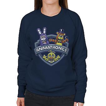 Animatronics Maniacs One Night At Freddys Women's Sweatshirt