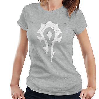 Horde symbole World Of T-Shirt Warcraft blanc femmes