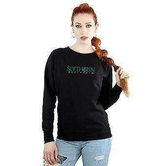 Harry Potter Women's Slytherin Text Sweatshirt