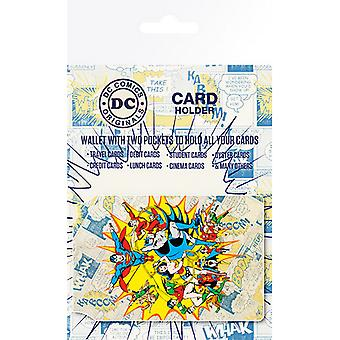 DC Comics Official Character Travel Card Wallet