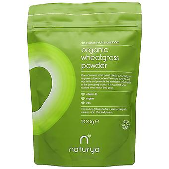 Naturya Organic Wheatgrass Powder, 200g