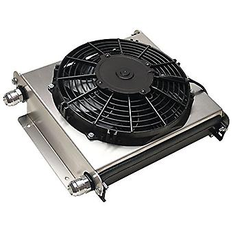 Derale 15876 Hyper-Cool Extreme Remote Fluid Cooler with Fan