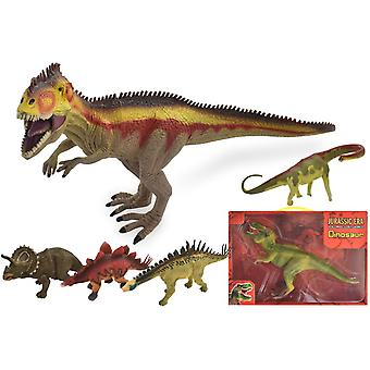 Ère jurassique petit dinosaure assorti
