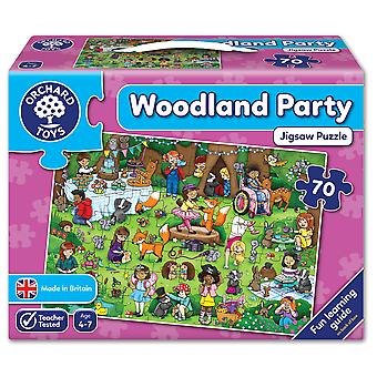 Orchard Toys skogsmark Party pussel