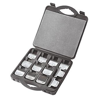 Andis Hinged Clipper Blade Tray Case - Holds up to 12 A5 Type Blades