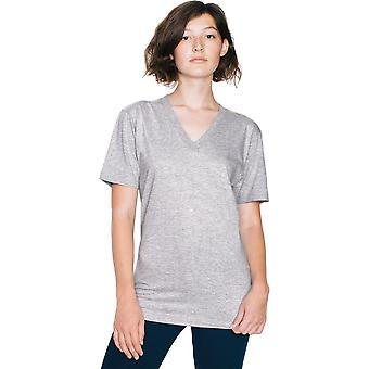 American Apparel Womens/Ladies Fine Jersey Short Sleeve V-Neck T-Shirt