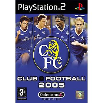 Club Football Chelsea 2005 (PS2) - New Factory Sealed