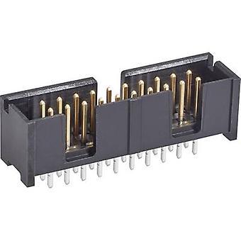 TE Connectivity Pin remsa kontakt avstånd: 2.54 mm totalt antal stift: 24 nr. rader: 2 1 dator