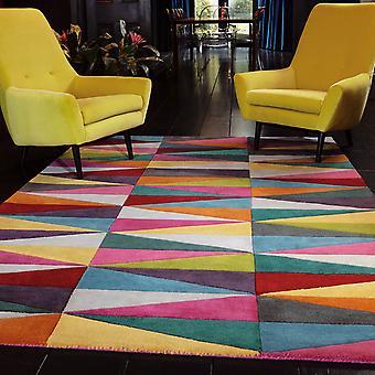 Funk Triangles Multi Coloured Rugs