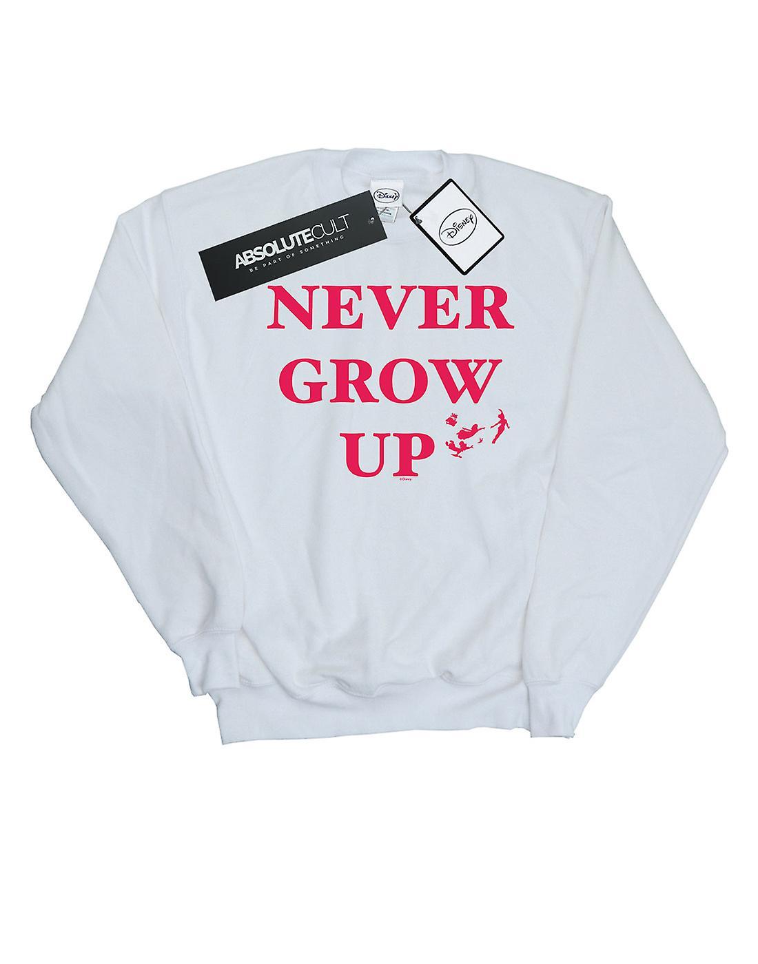 Disney Girls Peter Pan Never Grow Up Sweatshirt