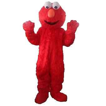 mascot SPOTSOUND of Elmo, the famous red puppet from Sesame Street