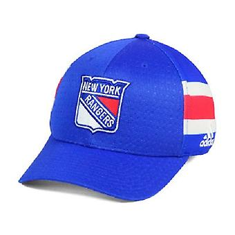 New York Rangers NHL Adidas Draft Stretch Fitted Hat
