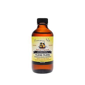 Sunny Isle Jamaican Castor Oil Ylang Ylang 4oz.