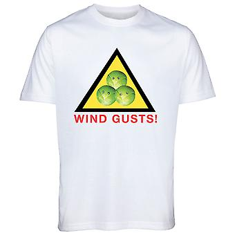 Wind Gusts Brussel Sprout Christmas Tshirt