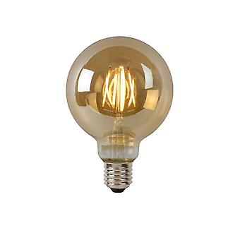 Lucide Bulb LED G95 Filament E27/5W 400LM 2700K Amber