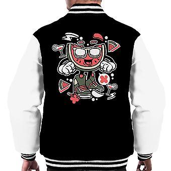 Watermelon Man Men's Varsity Jacket