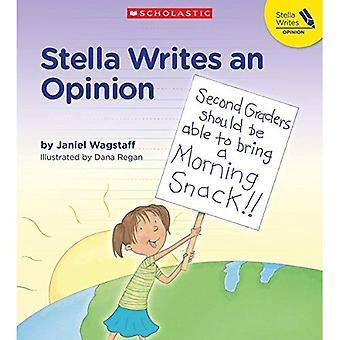 Stella skriver ett yttrande
