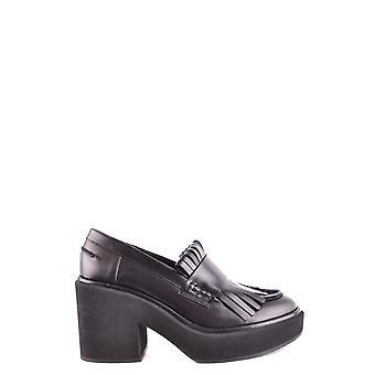 Paloma Barceló Ezbc129006 Women's Black Leather Loafers