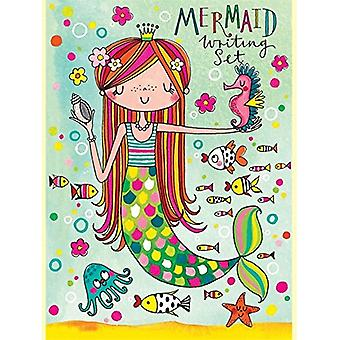 Rachel Ellen Mermaid Design Girls Writing Set