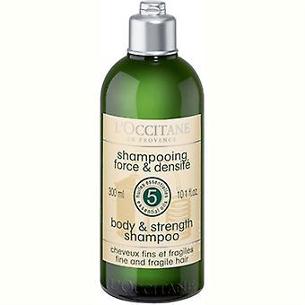 L'Occitane lichaam & sterkte Shampoo 10.1oz / 300ml