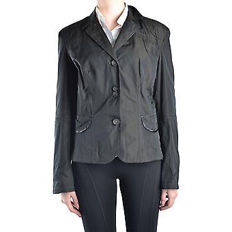 Geospirit Ezbc203010 Women's Black Polyester Blazer