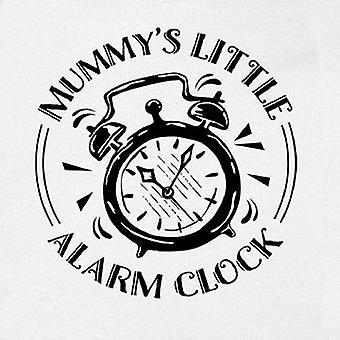 FLOSO Baby Girls/Boys Mummys kis ébresztő óra rövid ujjú bodysuit