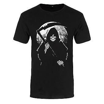 Grindstore Mens Reaper Moon Premium T-paita