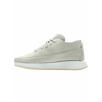 Clarks Originals Off White Suede Kiowa Sport Sneaker