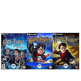 Harry Potter Triple Pack (PC CD) - Uusi
