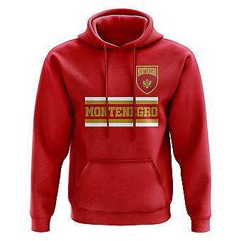 Montenegro Core Football Country Hoody (punainen)