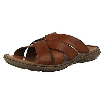 Mens Rieker Slip-on Sommersandalen 22098
