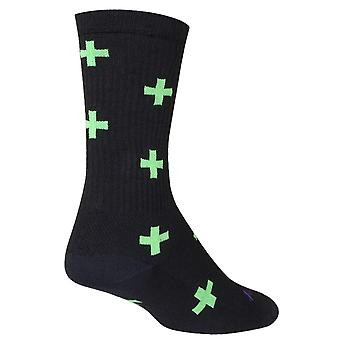 Chaussettes - Sockguy - 6'quot; Crew Medicine S/M Cycling/Running