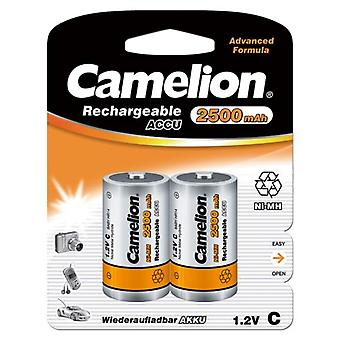 12x Camelion rechargeable C batteries NiMH HR14 LR14 2500mAh battery
