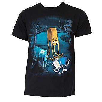 Άνδρες ' s βαμβάκι περιπέτεια ώρα τήξης T-shirt