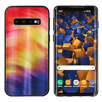 BackCover Aurora Glass voor Samsung S10 Plus Paars