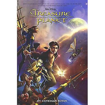 Treasure Planet (Double Sided Advance Style B) Original Cinema Poster