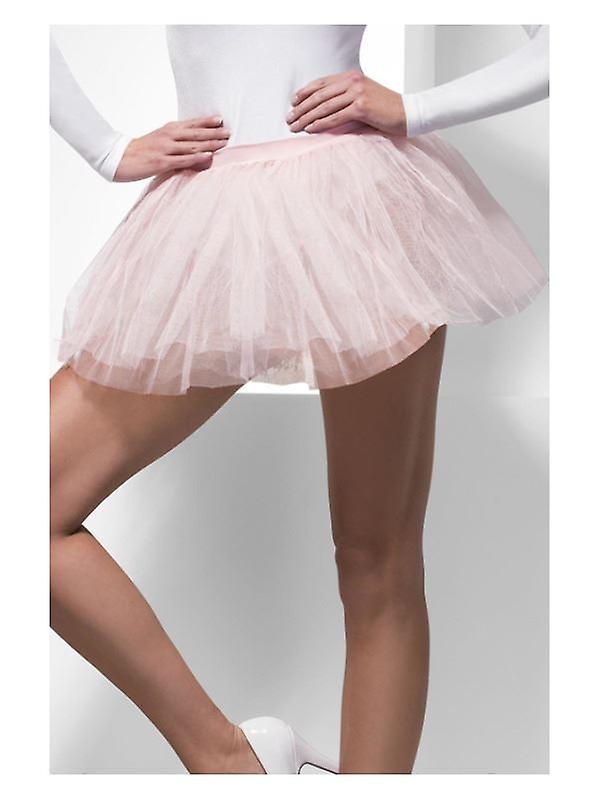 Womens Baby Pink Tutu Underskirt  Fancy Dress Accessory