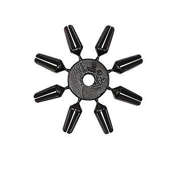 Unicorn Darts Black Plastic Clip Dart Accessory Flight Damage Protector