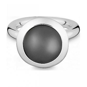 Quinn-zilveren ring met Maansteen-021894650