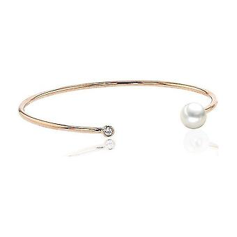 Luna-Pearls Beaded Bracelet Akoyaperle 7.5-8 mm 750 Rosegold 1 Brilliant 0.06 ct. 3001205