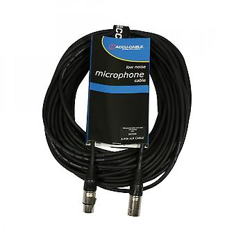 Accu-Cable Accu-cable 224 : Xlr-m To Xlr-f Microphone Cable 20m