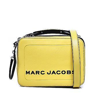 Marc Jacobs de getextureerde mini vak lederen tas