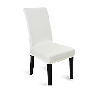4Pcs Stretch Elastic Dining Room Washable Chair Cover