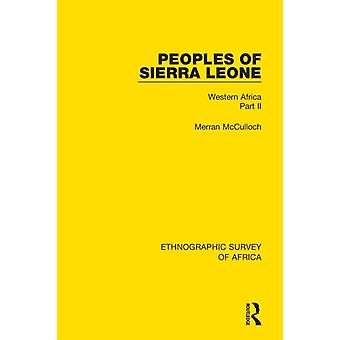 Peoples of Sierra Leone by McCulloch